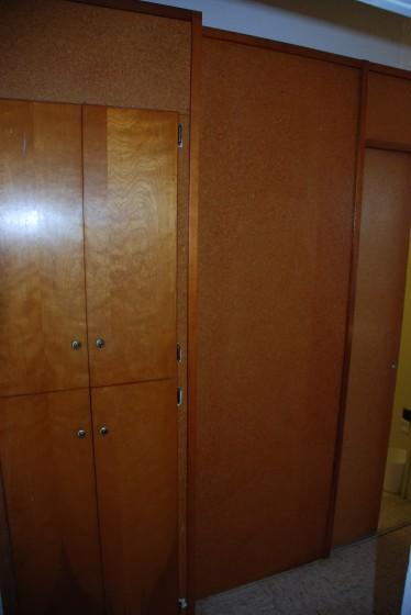 Hall cabinets.