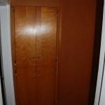 Hallway cabinets.