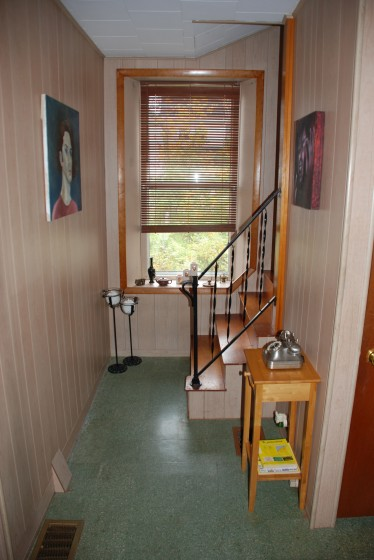 Downstairs Hallway.